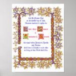 Renaissance Wedding Certificate Posters