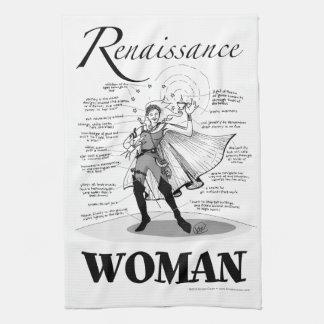 Renaissance Woman Kitchen Towel