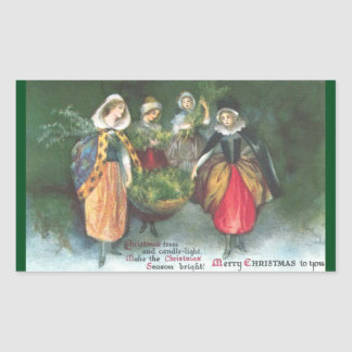 Renaissance Women Vintage Christmas
