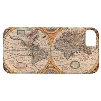 Renaissance World Map Case For The iPhone 5
