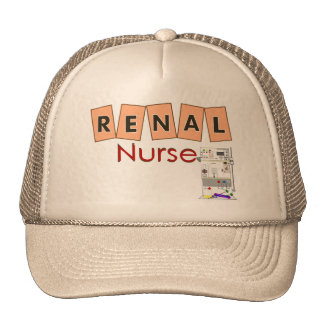 Renal Nurse Fresenius Machine Design Hats