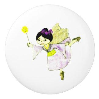 Renata Fairy Ceramic Knob