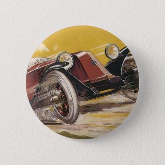 Renault 2 Inch Round Button