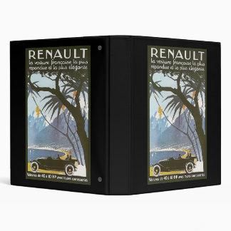 Renault 3 Ring Binder