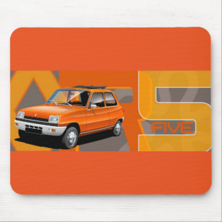 Renault 5 Mouse Mat Mouse Pad