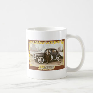 Renault Classic White Coffee Mug