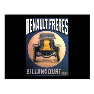 Renault Postcard