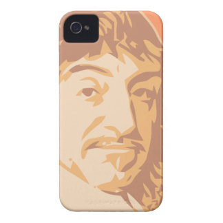 Rene Descartes iPhone 4 Case