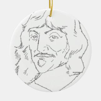 Rene Descartes Ornament