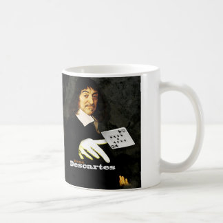RENÉ DESCARTES PAYS COFFEE MUG