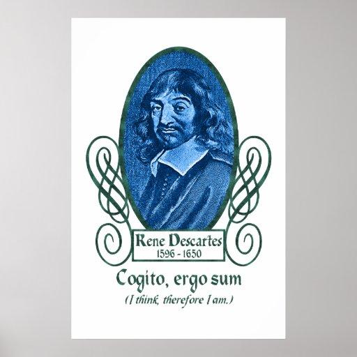 René Descartes Posters