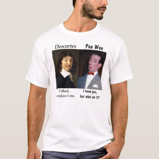 Rene 'n' Pee Wee on Existence T-Shirt