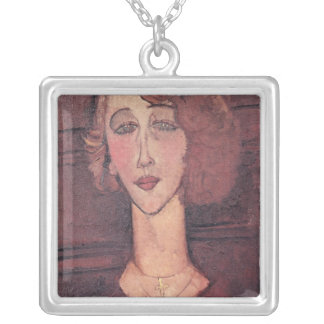 Renee, 1917 silver plated necklace