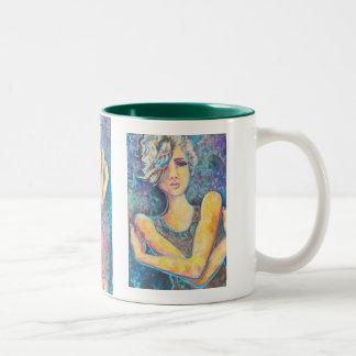 Renee, Customizable Products Two-Tone Coffee Mug