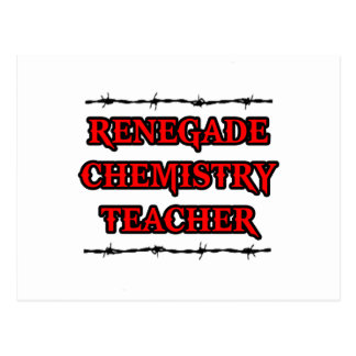 Renegade Chemistry Teacher Postcards