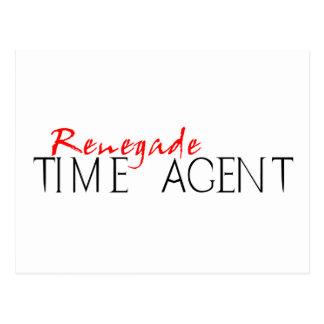 Renegade Time Agent Postcard