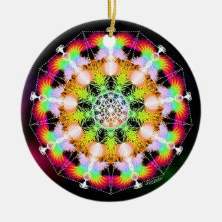 Renew/Cosmic Connector Ceramic Ornament