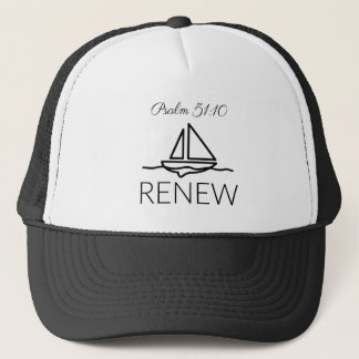 Renew, Psalm 51:10 Trucker Hat