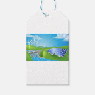 Renewable Energy or Power Generation Methods Gift Tags