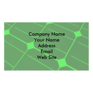 Renewable Energy Pack Of Standard Business Cards