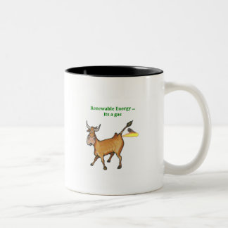 Renewable Energy Two-Tone Coffee Mug