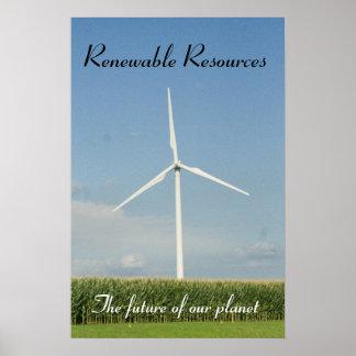 Renewable Resources Poster