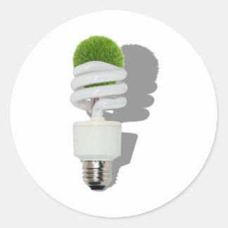 RenewableResources062210Shadows Classic Round Sticker