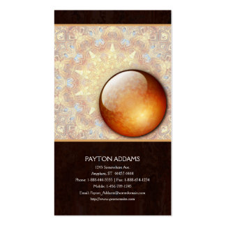 Renewal Abstract - Vertical Business Card
