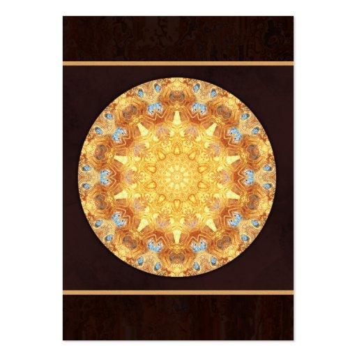 Renewal Mandala Artist Trading Card - ACEO Business Card