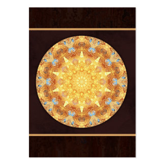 Renewal Mandala Artist Trading Card - ACEO Large Business Card