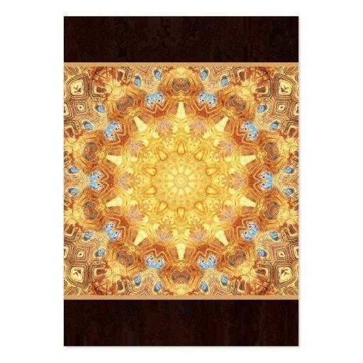 Renewal Mandala Artwork Artist Trading Card - ACEO Business Card Templates