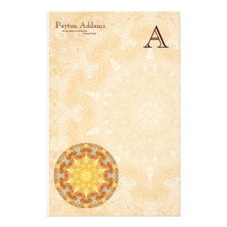Renewal Mandala Monogram Stationery