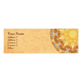 Renewal Mandala Profile Business Card