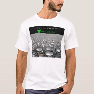 Renewing Vibrations. Soothing Heavy Rain. T-Shirt