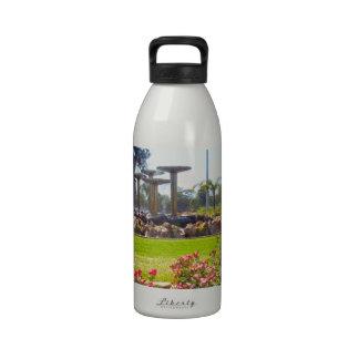 Renmark_Champagne_Fountain,_Australia,_ Drinking Bottles
