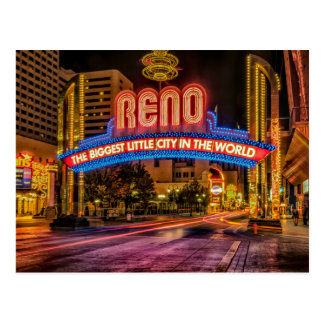 Reno Arch Postcard