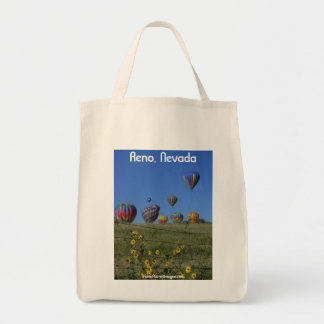 Reno Balloon Races Shopping Bag