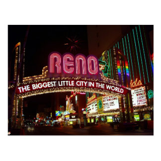 Reno Biggest Little City Postcards