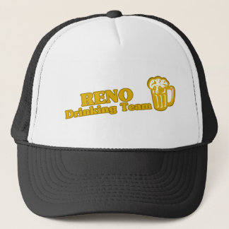 Reno Drinking Team tee shirts Trucker Hat