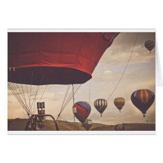 Reno Hot Air Balloon Race Card