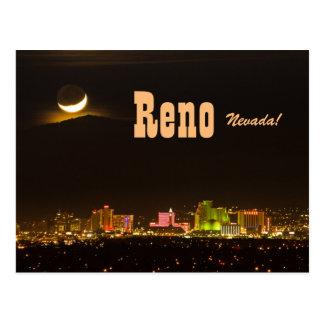 Reno Nevada New Moon Postcard