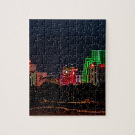 Reno Nevada Skyline Jigsaw Puzzle