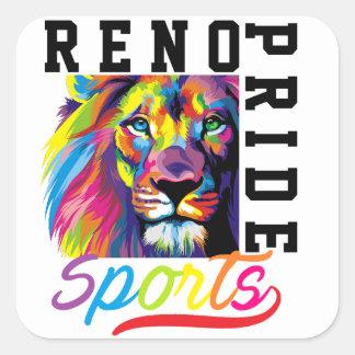 Reno Pride Sports Sticker Sheet