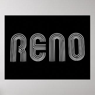Reno Sign White