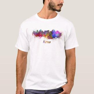 Reno skyline in watercolor T-Shirt
