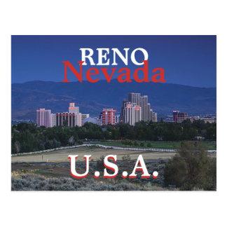 Reno U.S.A. Postcard