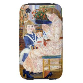 Renoir Afternoon at Wargemont Tough iPhone 3 Case