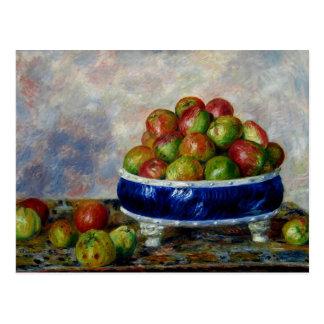 Renoir - Apples in a Dish Postcard