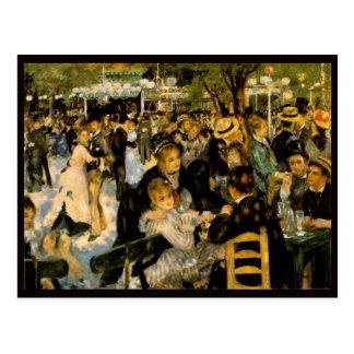 Renoir Art Postcard
