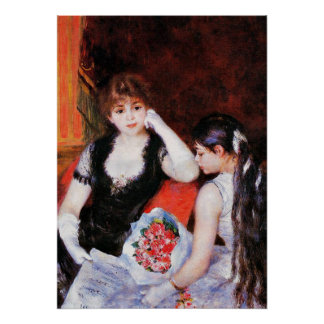 Renoir - At the Concert-Box at the Opera Poster
